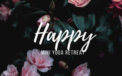 Yoga retreat 18. September